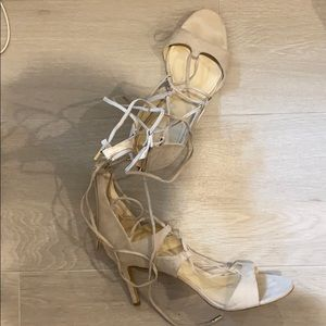 Marc Fisher lace up heels